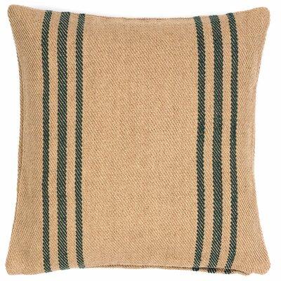 Lexington Outdoor Throw Pillow Color: Navy / Camel