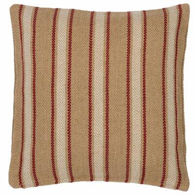 Cambridge Outdoor Throw Pillow Color: Red
