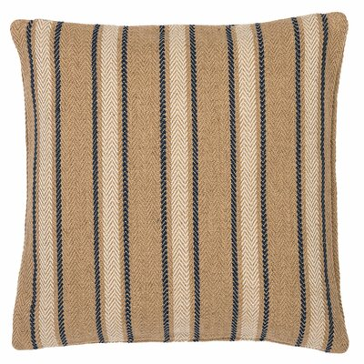 Cambridge Outdoor Throw Pillow Color: Navy