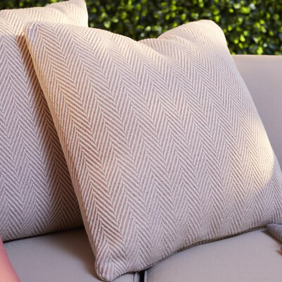 Concord Indoor/Outdoor Throw Pillow Color: Pink