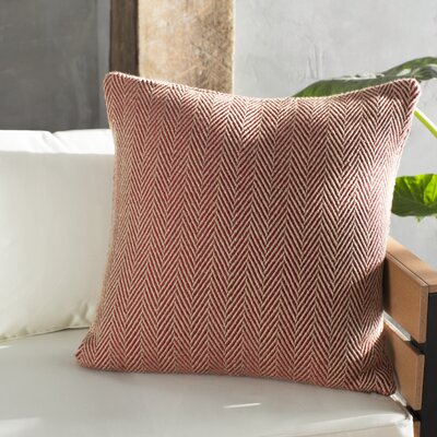 Concord Indoor/Outdoor Throw Pillow Color: Red