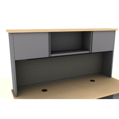 36 H x 72 W Desk Hutch Finish: Maple