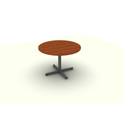 Circular Conference Table Top Finish: Cherry, Size: 29 H x 42 W x 42 D