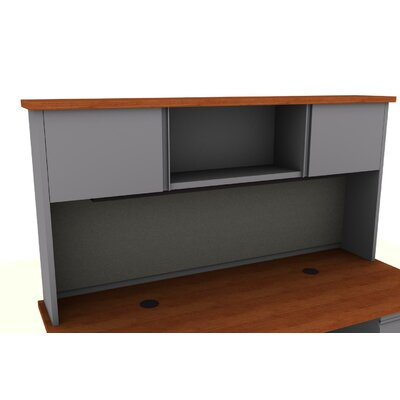 36 H x 72 W Desk Hutch Finish: Cherry