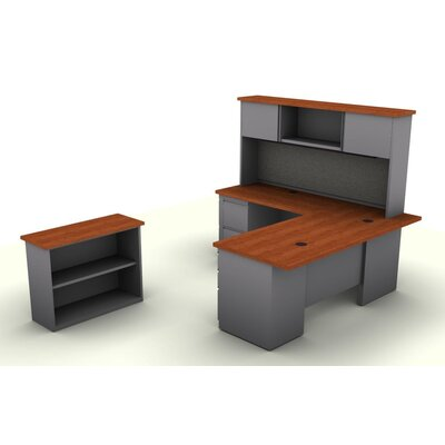 L Shaped Desk Office Suite Product Photo 751
