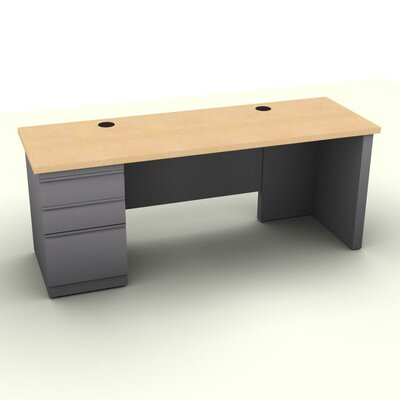 Stunning File Pedesta Computer Desk Product Photo