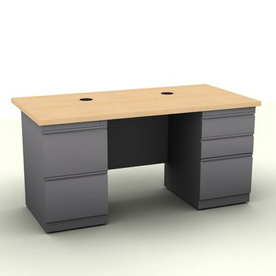 Reliable Pedestal Computer Desk Product Photo