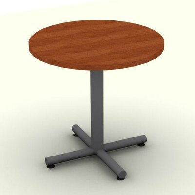 Circular Conference Table Top Finish: Cherry, Size: 29 H x 36 W x 36 D