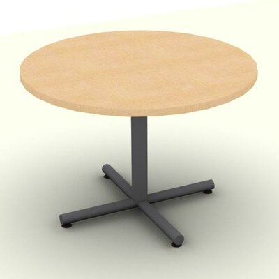 Circular Conference Table Top Finish: Maple, Size: 29 H x 42 W x 42 D