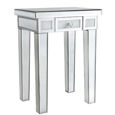 Diamond Crush End Table