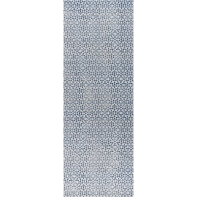 Norman Hand-Woven Blue Area Rug Rug Size: 5 x 8