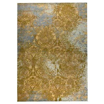 Austin Hand-Woven Rust/Gray Area Rug Rug Size: 4 x 6