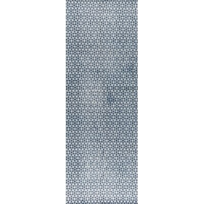 Norman Hand-Woven Blue/Gray Area Rug Rug Size: 5 x 8
