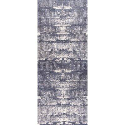 Jackson Hand-Woven Gray Area Rug Rug Size: 2 x 3