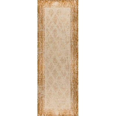 Corona Hand-Woven Rust Area Rug Rug Size: 4 x 6