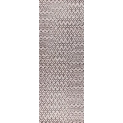 Norman Hand-Woven Brown Area Rug Rug Size: Runner 26 x 8