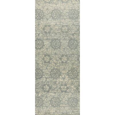 Baltimore Hand-Woven Silver Area Rug Rug Size: 2 x 3