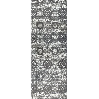 Baltimore Hand-Woven Charcoal/Gray Area Rug Rug Size: 5 x 8
