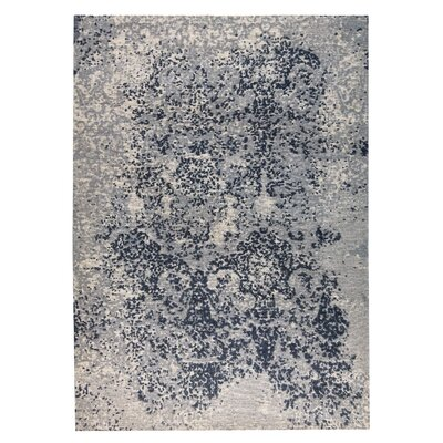 Arvada Hand-Woven Gray Area Rug Rug Size: 8 x 10