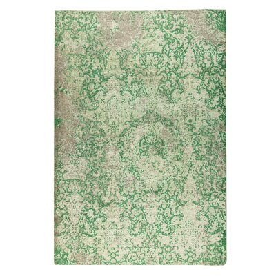 Arvada Hand-Woven Green Area Rug Rug Size: 2 x 3