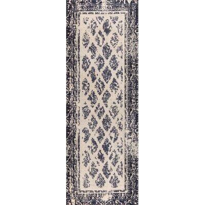 Corona Hand-Woven Charcoal/Gray Area Rug Rug Size: 4 x 6
