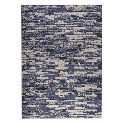 Fargo Hand-Woven Charcoal/Gray Area Rug Rug Size: 2 x 3