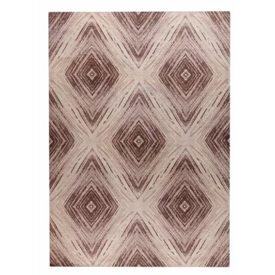 Lansing Hand-Woven Brown Area Rug Rug Size: 2 x 3