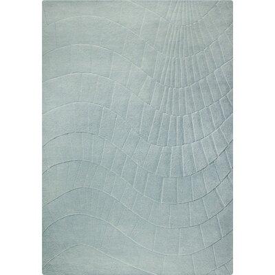 Terraza Hand-Tufted Gray Area Rug Rug Size: 83 x 116