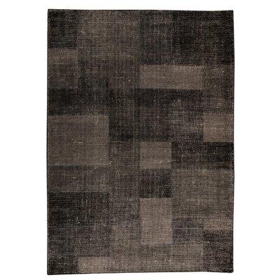 Lina Hand-Woven Gray Area Rug Rug Size: 66 x 99