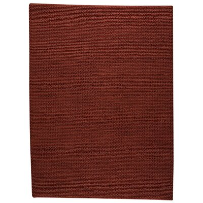 Ladhak Hand-Woven Red Area Rug Rug Size: 66 x 99