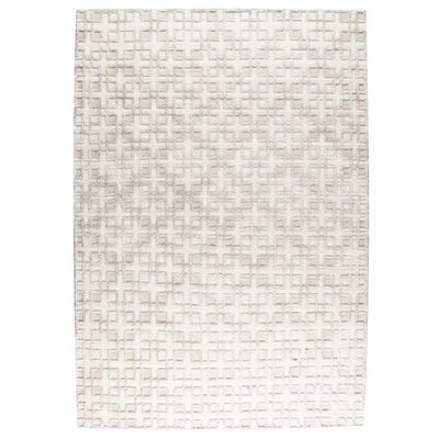 Pomona Hand-Woven Vanilla Area Rug Rug Size: 9 x 12