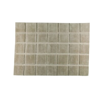 Manhattan Hand-Knotted Gray Area Rug