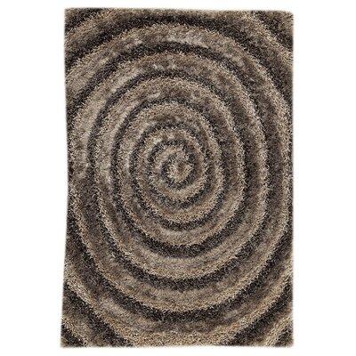 Landscape Hand-Tufted Brown/Beige Area Rug
