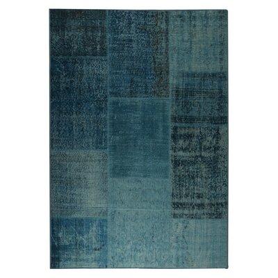 Konya Hand woven Turquoise Area Rug Rug Size: 2 x 3