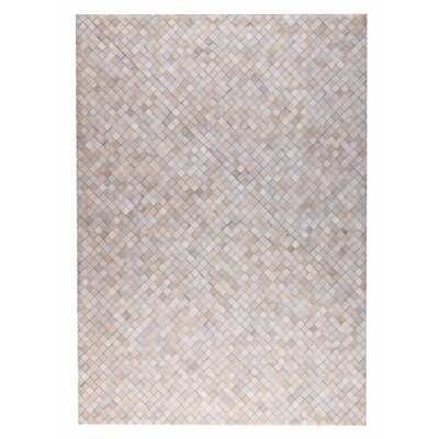 Chess Hand woven White Area Rug Rug Size: 9 x 12