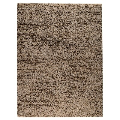 Square Hand-Woven Brown Area Rug Rug Size: Rectangle 46 x 66