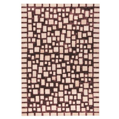 Capella Hand woven Beige/Brown Area Rug Rug Size: 5 x 8
