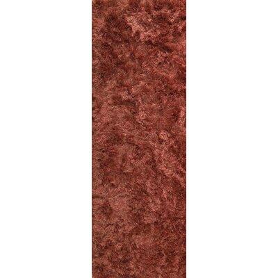 Dubai Hand-Woven Spice Area Rug Rug Size: Runner 28 x 71