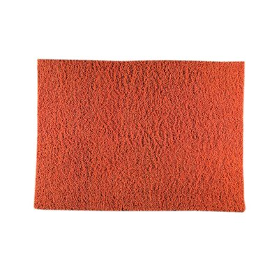 London Mix Hand-Woven Orange Area Rug