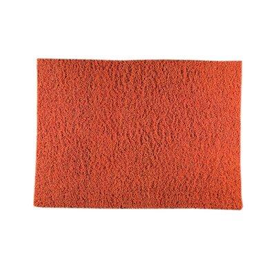 London Mix Hand-Woven Orange Area Rug