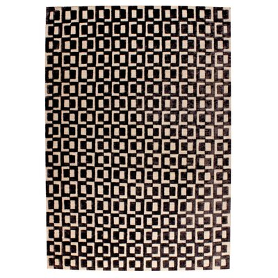 Yonkers Hand-Woven Gray/Brown Area Rug Rug Size: 5 x 8