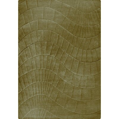 Terraza Hand-Tufted Cafe Latte Area Rug Rug Size: 83 x 116