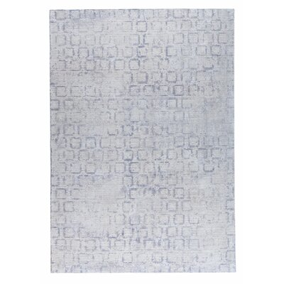 Tampa Hand-Woven Gray Area Rug Rug Size: 8 x 10