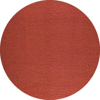 Ladhak Hand-Woven Orange Area Rug