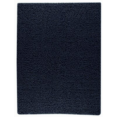 Square Hand-Woven Charcoal Area Rug Rug Size: Rectangle 9 x 12