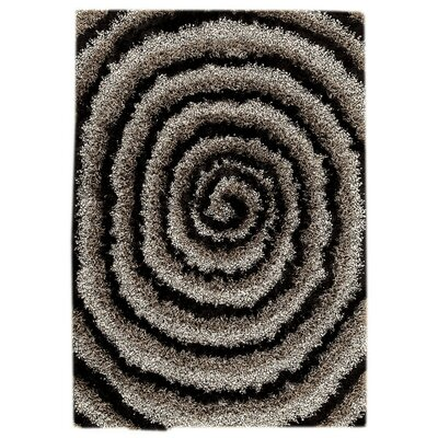 Landscape Hand-Tufted Black/Gray Area Rug