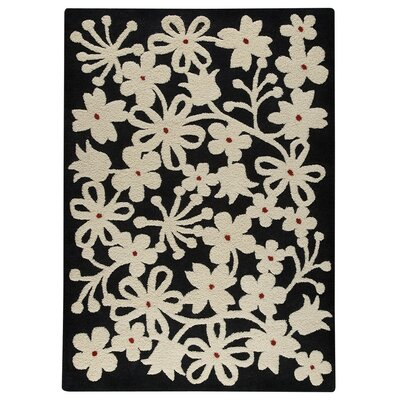 Newport Hand-Tufted Charcoal/White Area Rug