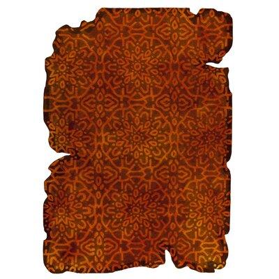 Jalwa 3 Hand-Tufted Orange Area Rug
