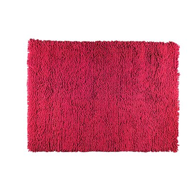 Berber Hand-Woven Red Area Rug