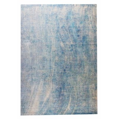 Reno Hand-Woven Blue Area Rug Rug Size: 8 x 10